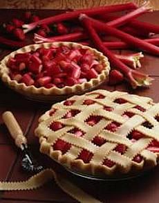 Grandma's Rhubarb Pie